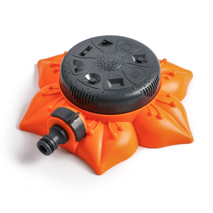 Распылитель многофункциональный, 8 режимов, под коннектор, пластик, «Цветок»
