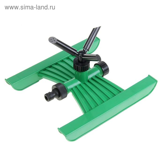 Распылитель 3 лопасти, горизонтальный, штуцерный соединитель, ABS-пластик
