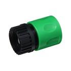 """Муфта-коннектор, d=3/4"""" (19 мм), внутренняя резьба, цанговое соединение, ABS-пластик"""
