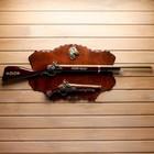 Сувенирное оружие на планшете «Ружьё и мушкет», с эмблемой Конь, 100х40 см - фото 8875509