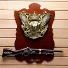 Сувенирное ружье на планшете с орлом, 40х60 см - фото 8875516