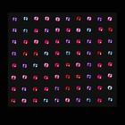 Rhinestones for decoration, adhesive, 3mm, MIX color