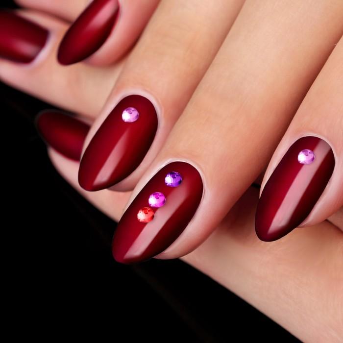 Стразы для декора ногтей, клеевые, 3мм, цвет МИКС