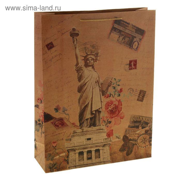 """Пакет крафт """"Статуя свободы"""""""