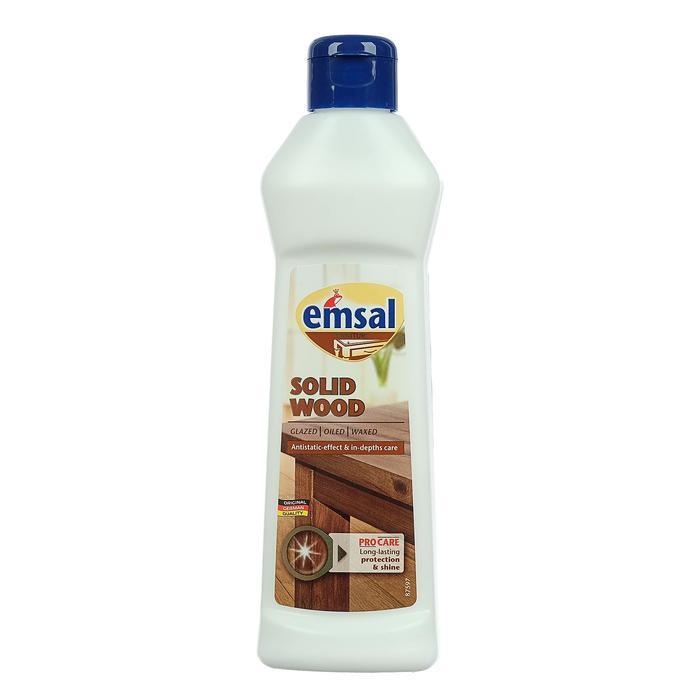 Очиститель-полироль для дерева Emsal, антистатик, 250 мл