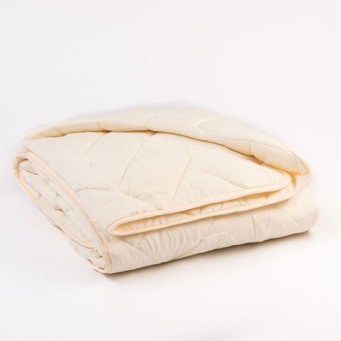 Одеяло Миродель всесезонное Овечья шерсть, 145*205 ± 5 см, микрофибра, 200 г/м2 - фото 62739