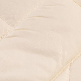Одеяло Миродель всесезонное Овечья шерсть, 145*205 ± 5 см, микрофибра, 200 г/м2 - фото 62740