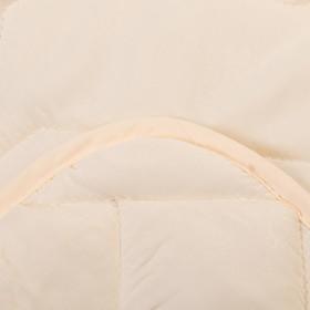 Одеяло Миродель всесезонное Овечья шерсть, 145*205 ± 5 см, микрофибра, 200 г/м2 - фото 62741