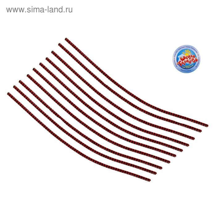 Проволока с ворсом для поделок и декорирования (набор 10 шт), цвет полосочка