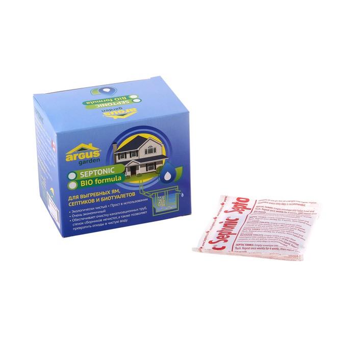 Cр-во для выгребных ям, септиков, туалетов и биотуалетов ARGUS GARDEN 4 пакета*71 гр/24 - фото 247134206