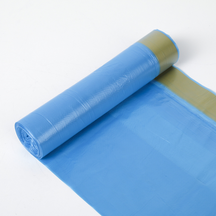 Мешки для мусора с завязками 35 л, толщина 10 мкм, рулон 15 шт