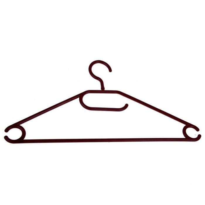 Вешалка-плечики размер 46-48, цвет МИКС