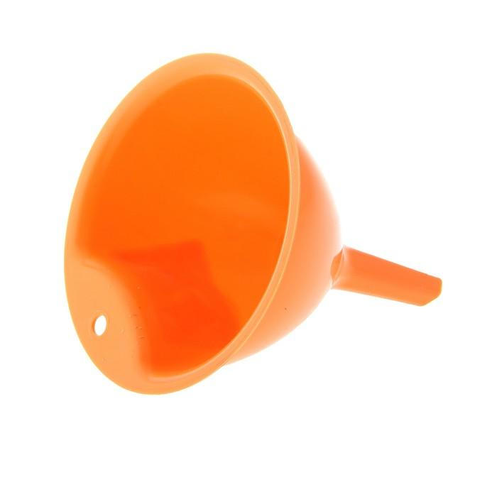Воронка 11 см, цвет оранжевый