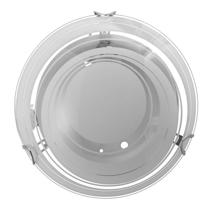 "Светильник ""Орион"" моллир., 1х60Вт Е27, хром, d=25 см,  h=4,5 см - фото 7932158"