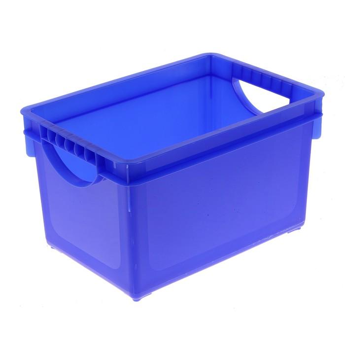 Ящик для хранения 5,1 л, цвет МИКС
