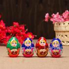 "Souvenir egg ""Matryoshka"", 5, 7x4 cm, mix, handmade"