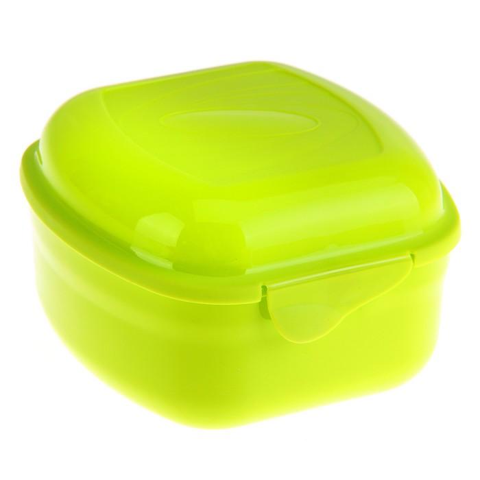 Контейнер пищевой 900 мл Galaxy, цвет зеленый