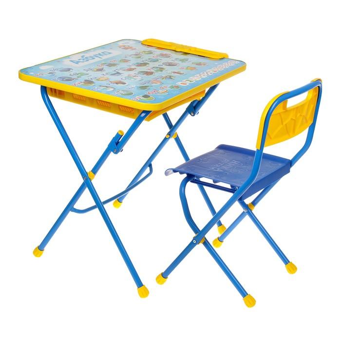 """Набор детской мебели """"Азбука"""" складной: стол, стул и пенал"""