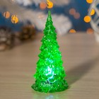 """Toy light """"Tree"""" (batteries included) 13 cm, 1 LED, RGB, GREEN"""