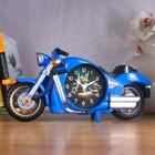 "Будильник ""Мотоцикл"", 27х13 см, микс - фото 58306"