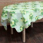 """Скатерть """"Лимон"""", размер 152х152 см, пвх на флизелиновой основе"""