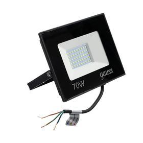 Прожектор светодиодный Gauss Elementary, 70 Вт, IP65, 6500 К, 4370 Лм, холодный белый