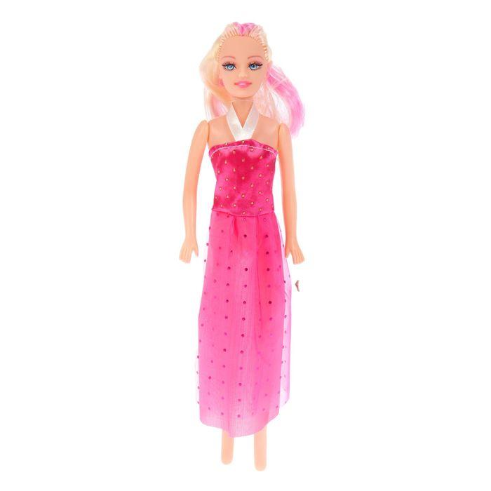 Кукла в вечернем платье, МИКС
