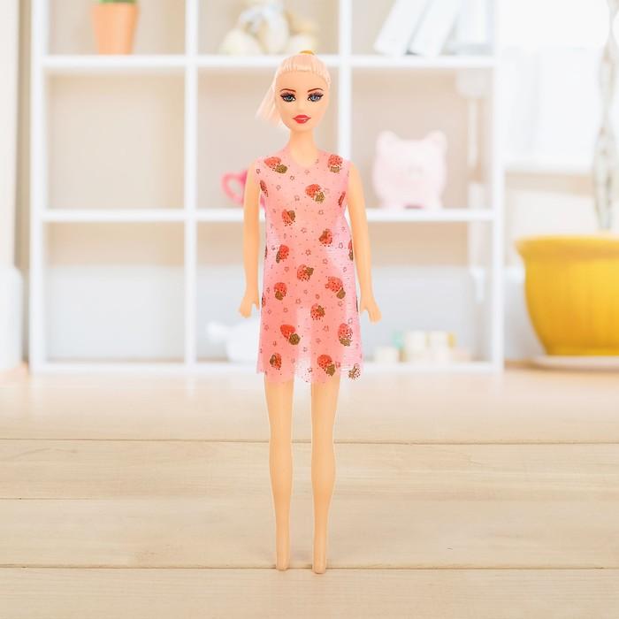 Кукла «Оксана» в платье, МИКС