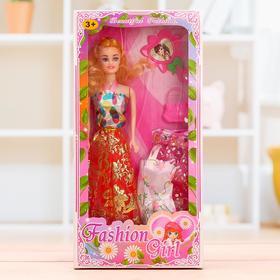 Кукла модель «Анюта» с одеждой и аксессуарами, МИКС
