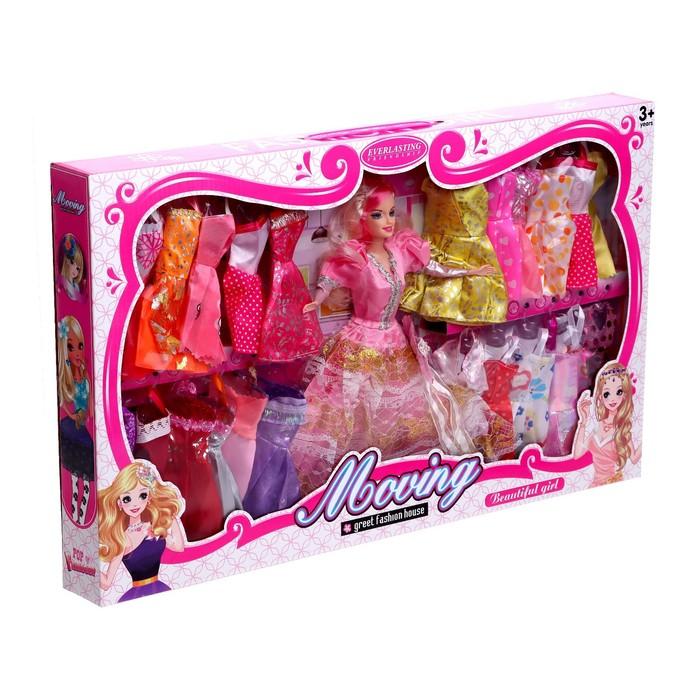 Кукла с платьями, МИКС