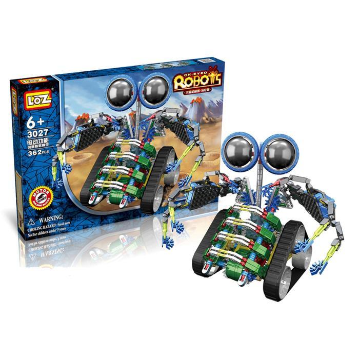 """Конструктор-робот """"Турбо"""", работает от батареек, 362 детали"""