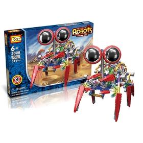 Конструктор-робот «Паук», работает от батареек, 373 детали