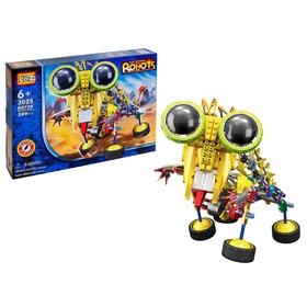 Конструктор-робот «Насекомое», работает от батареек, 389 деталей