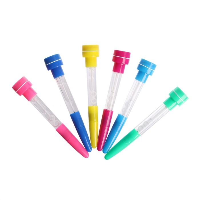Мыльные пузыри-ручки с печатью и светом