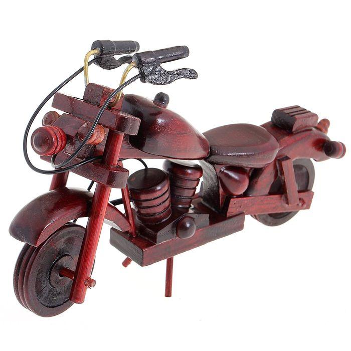 "Сувенир ""Ретро - мотоцикл"", цвета МИКС"
