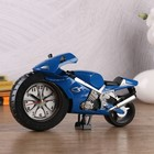 "Alarm clock ""Bike"", the watch on the wheel, mix, 14х23 cm"