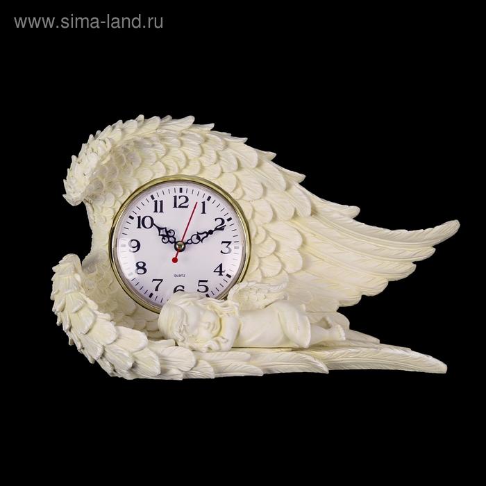 """Часы настольные """"Крылья ангела"""""""