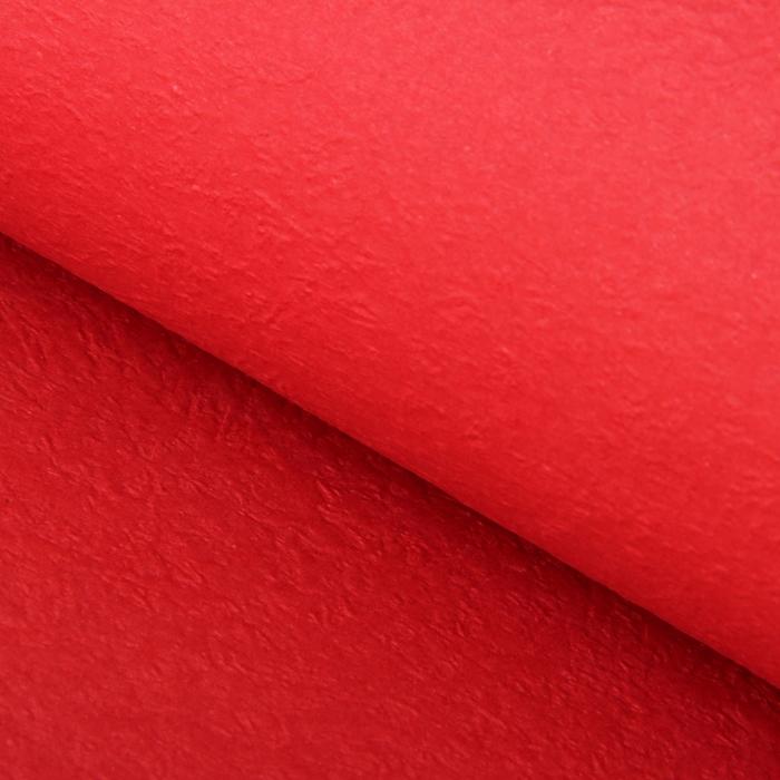 Бумага упаковочная рельефная, красный, 64 х 64 см