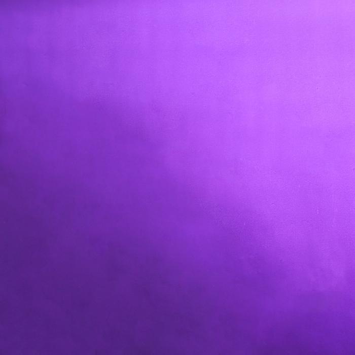 Плёнка двухсторонняя с перламутровым нанесением, фиолетовая, 60 х 60 см