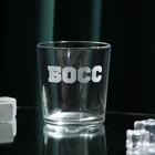 "Стакан для виски ""Босс"" - фото 1170763"