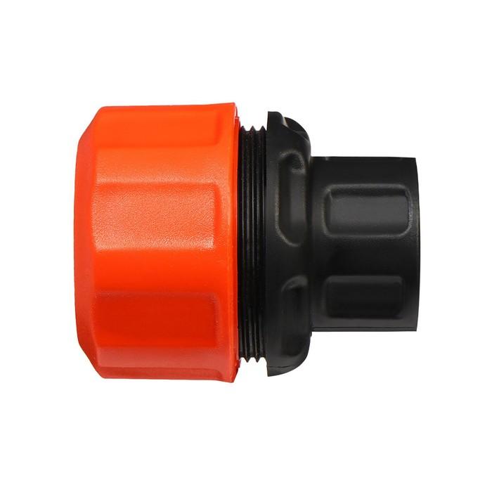 """Коннектор, 3/4"""" (19 мм), пластик, «Жук»"""