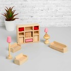 """The doll furniture """"Living room"""", 11 items"""