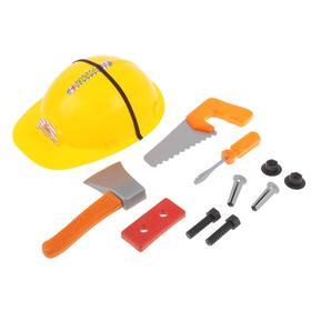 Набор инструментов «Юный строитель», с каской в Донецке
