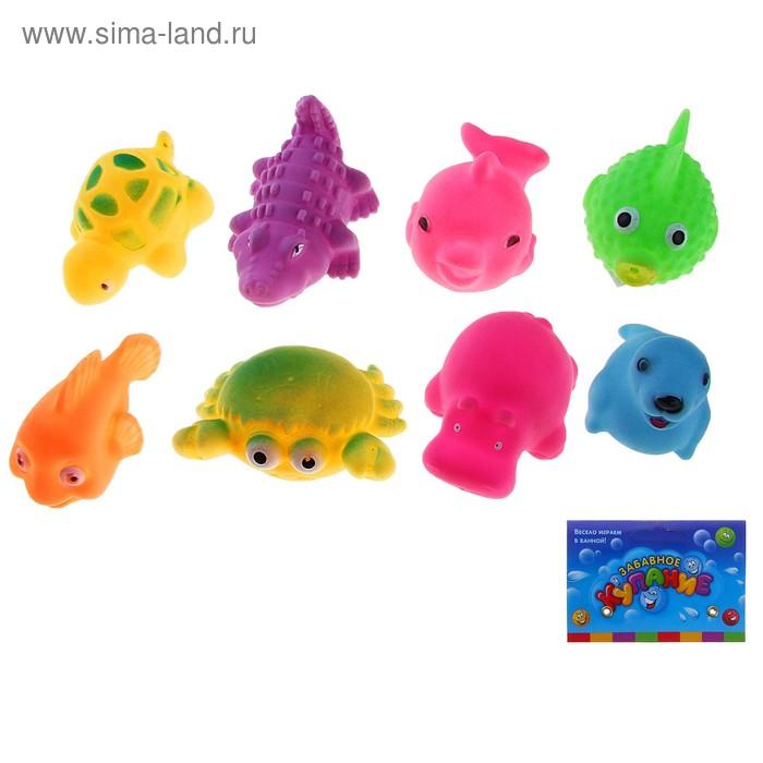 Набор резиновых игрушек, 8 шт.