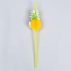 Tube cocktail pineapple (набор12шт)