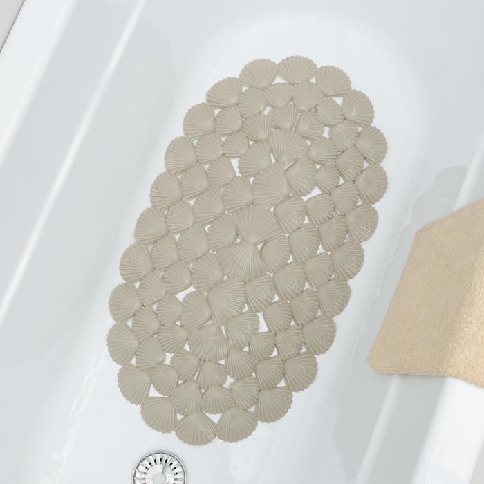 """SPA-коврик для ванны """"Ракушки"""", цвет МИКС"""