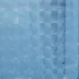 Штора для ванной комнаты Доляна «Графика» 3D, 180×180 см, EVA, цвет синий - фото 4654537