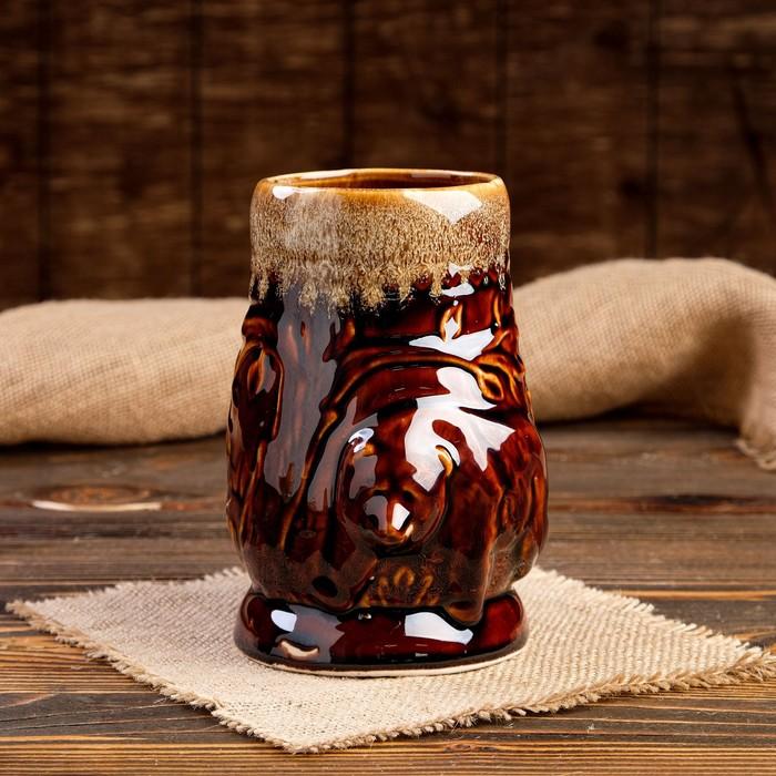 """Кружка для пива """"Медведь"""" 0,95 л"""