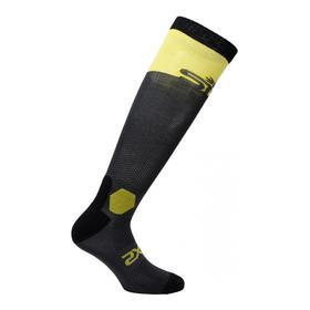 Носки SIXS LONG RACING, LORA-II-GRGI, цвет Серый/Желтый, размер 40 - 43 Ош
