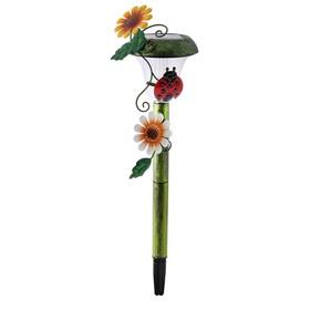 """Фонарь садовый на солнечной батарее """"Старт"""" Жук, 1 светодиод"""